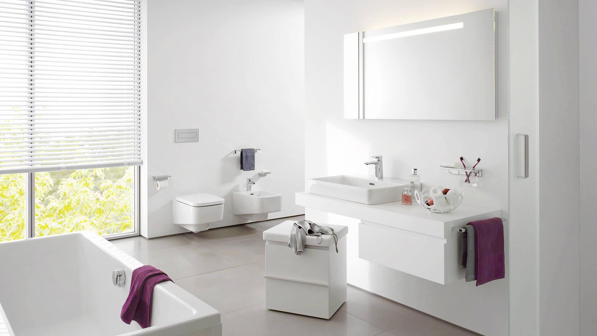 Waschtische, Bidets, Badezimmermöbel, Bad- und Sanitär-Ausstellungen und Beratung, Hinwil, Volketswil, Wettingen, Zürich